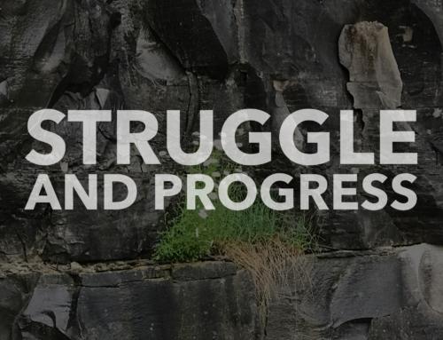 Struggles are the Key to Progress