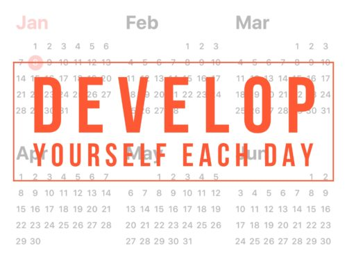Development is an every day thing